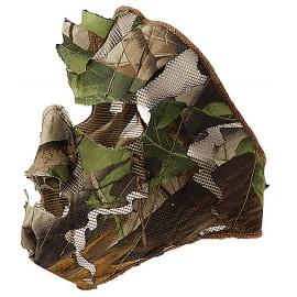 Demi masque feuilles Camo