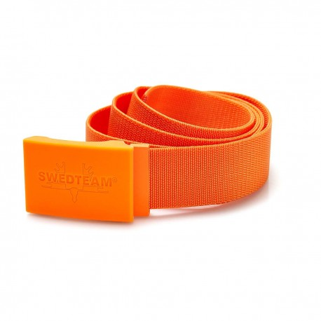 Ceinture coloris orange fluo