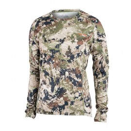 T-Shirt Femme Core Lightweight crew LS Optifade Subalpine