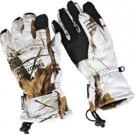 Gants chasse hiver camo neige
