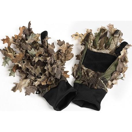 Gants feuilles Camo