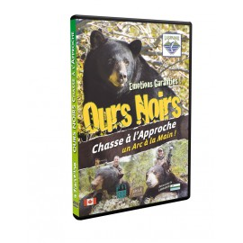 Ours Noirs chasse à l'approche