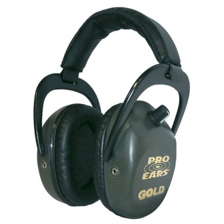 "Casque Pro Ears Stalker ""Gold"" Vert"