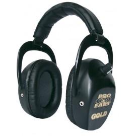 "Casque Pro Ears Stalker ""Gold"" Noir"