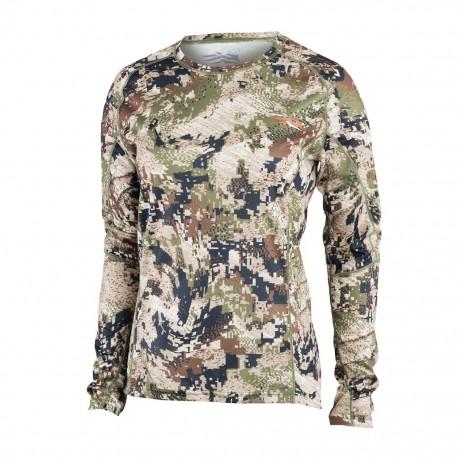T-Shirt Femme Core Lightweight crew LS Optifade Subalpine